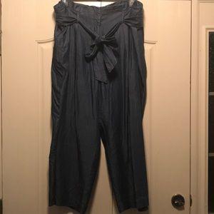Wide legged, gaucho-style pants by Karri Blue
